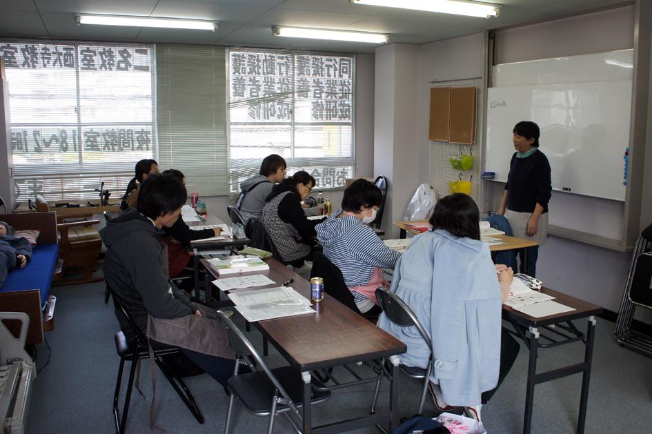 西大寺教室-講義風景