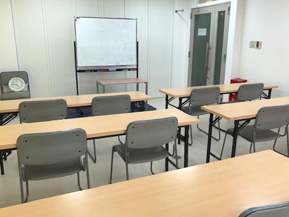 講義時の教室配置